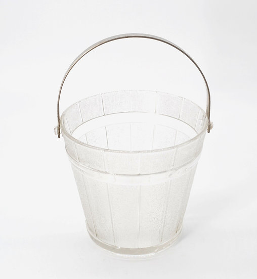 Vintage Buckle Ice Bucket