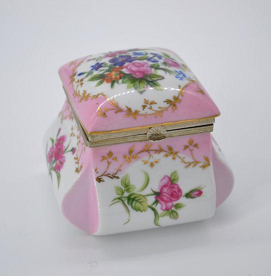 Norleans  Ceramic Vintage Trinket Keepsake BoxBox