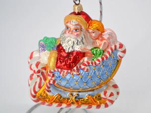 Shiny Brite and Radko Christmas Ornaments, PART II