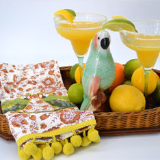 Tropical Bar Cart Collection- The Hundredth Monkey