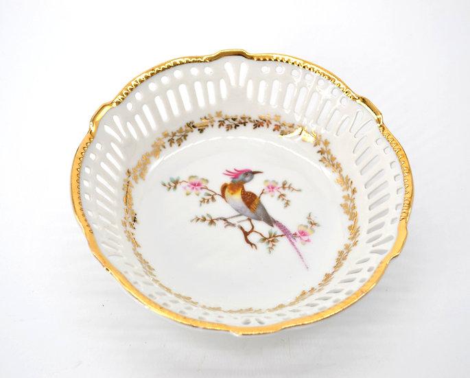 Bird Of Paradise Vintage Bowl