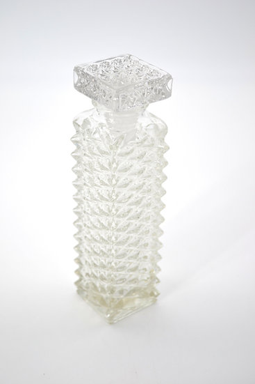 Vintage Tall Square Decanter