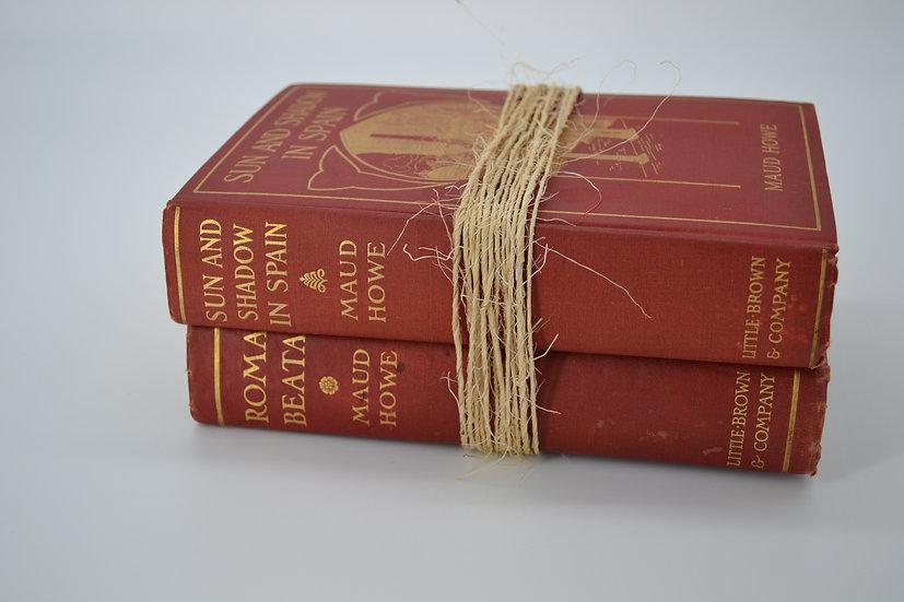 Maud Howe Book Set, 1ST Edition