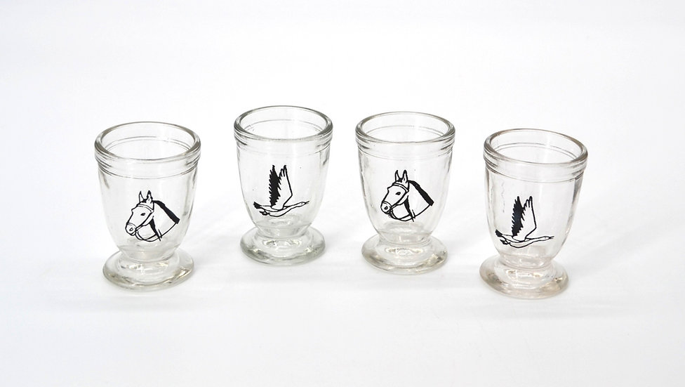 Hunting Shot Glasses Set of 4