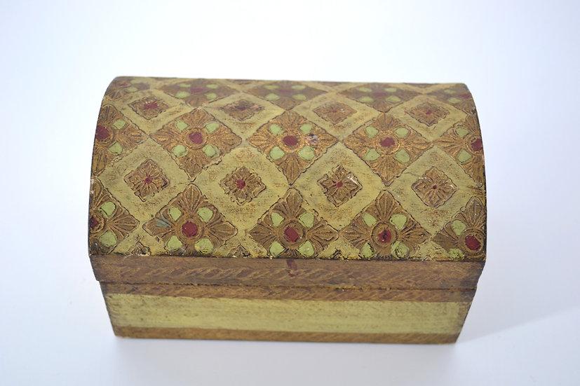 Italian Florentine Arched Box