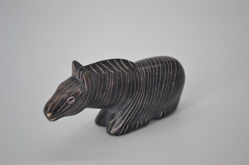 Hand Carved Soap Stone Zebra