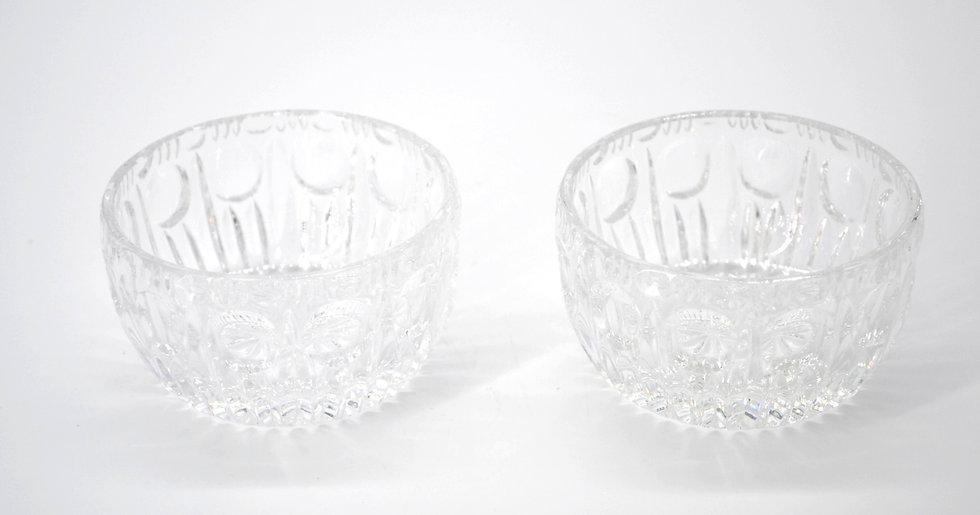 Pair Of Crystal Bowls