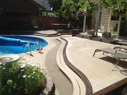 Curved Trex Deck