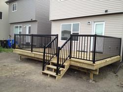 PT w/ Black railing