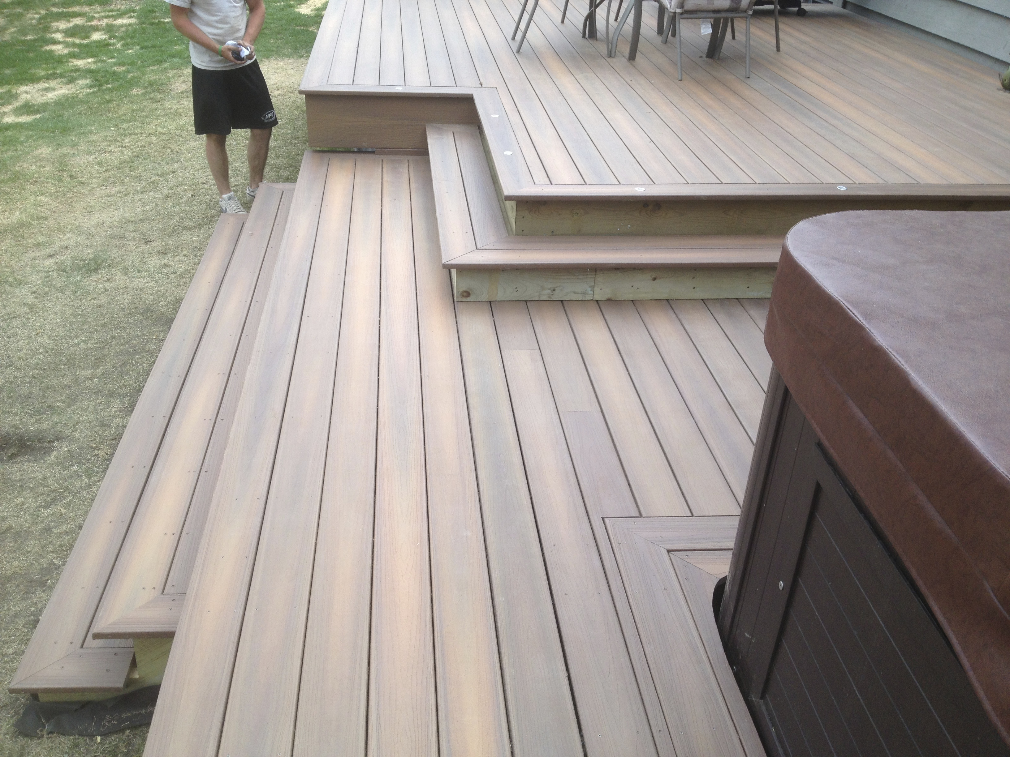 Fiberon Deck unfinished
