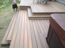Fiberon Deck unfinished