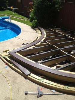 Deck Board Bending