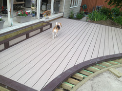 Trex Planter and Deck