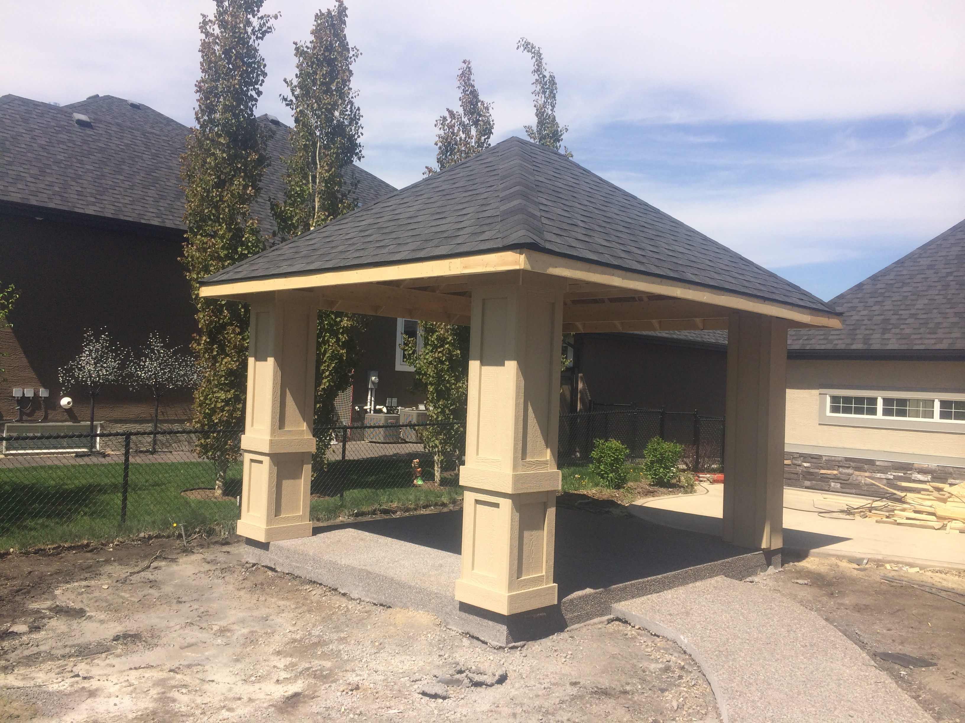 Partially Finished Gazebo