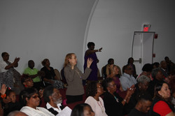 GFM Praise Team audience Weta James Cindy