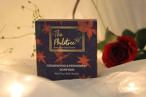 Cedarwood & Peppermint with Sandalwood Powder