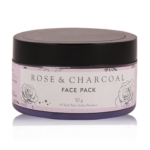 Rose & Charcoal Face Pack