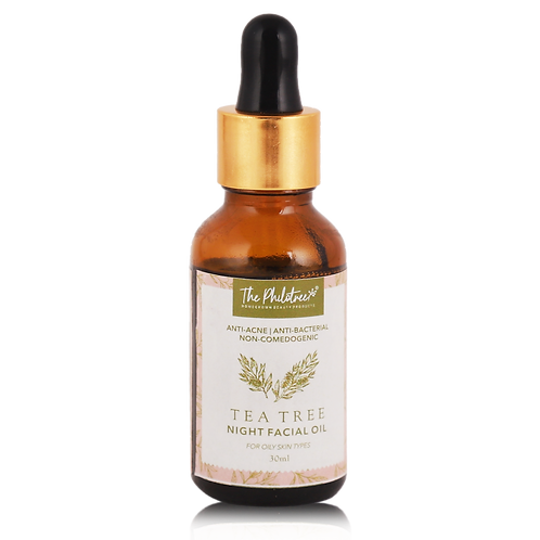 Tea Tree Night Facial Oil