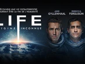 """J'ai vu.... """"Life : origine inconnue"""""""