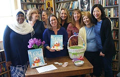 SCBWI Critique Group EGG book launch