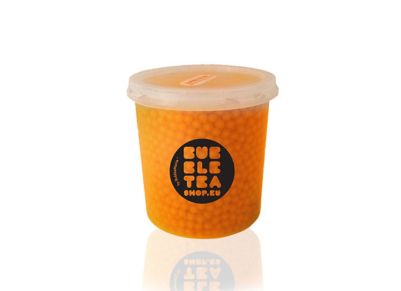 Pop boba broskev