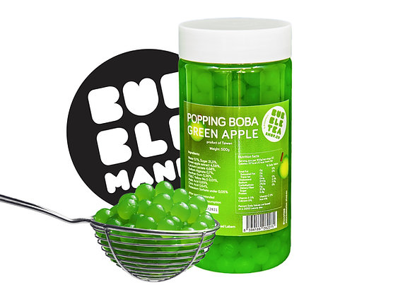 Popping boba Green apple