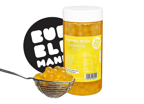 Popping boba mango