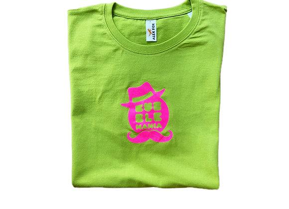 Green T-shirt mustache