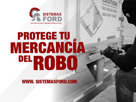 ROBO - PROTEGE TU MERCANCÍA