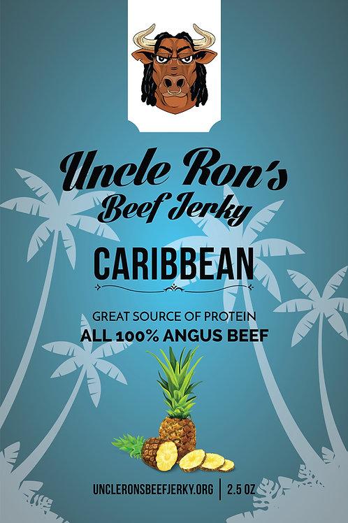 Caribbean Flavored Beef Jerky