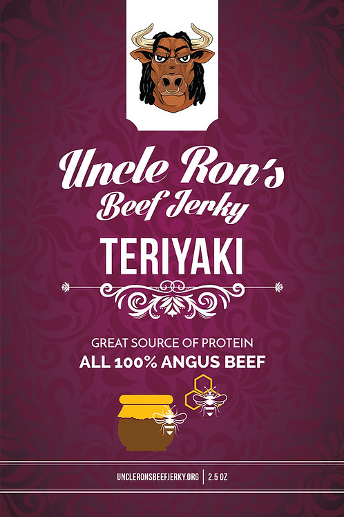 Teriyaki Flavored Beef Jerky