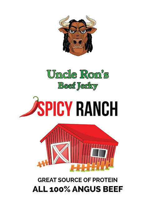 Spicy Ranch Flavored Beef Jerky