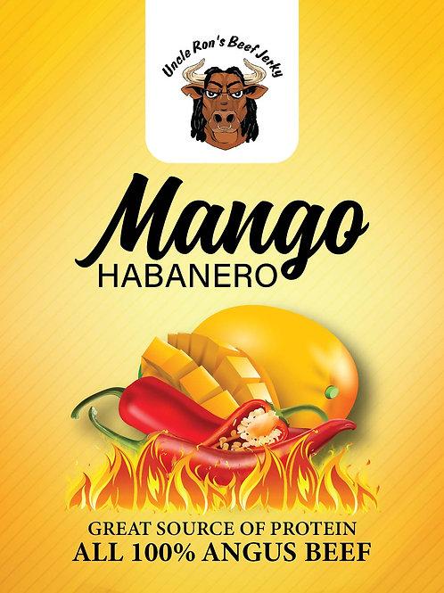 Mango Habanero Flavored Beef Jerky