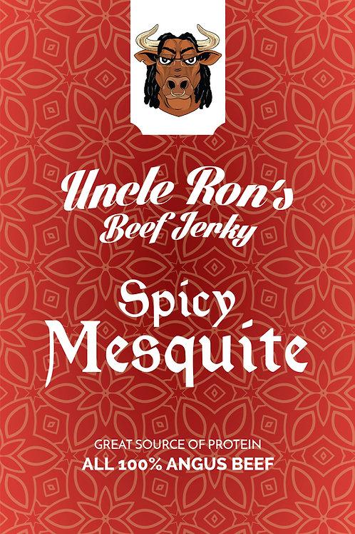 Spicy Mesquite Flavored Beef Jerky