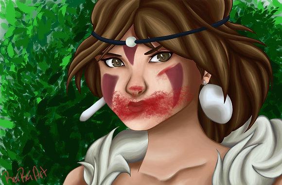 Princess Mononoke, San (A3)