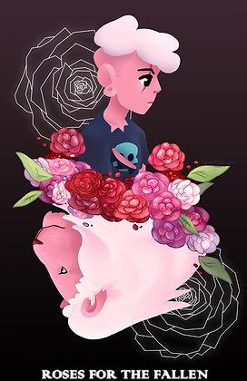 Steven Universe, Pink Lars and Lion Print