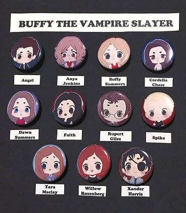 Buffy the Vampire Slayer (Button Set)
