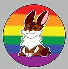 pride bunnies traditional pride button.j