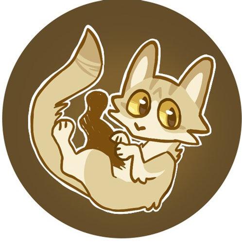 Original Art, Bagel Cat