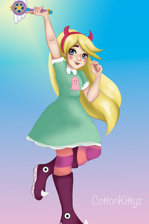 Star vs the Forces of Evil, Star Butterfly (A3)