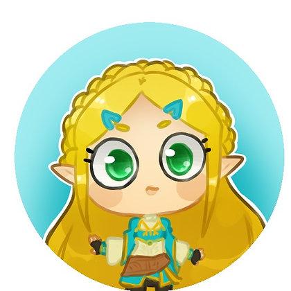 Legend of Zelda: Breath of the Wild, Zelda