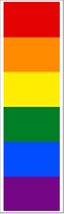 Pride Bookmark Front View