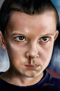 Stranger Things, Eleven (A3)