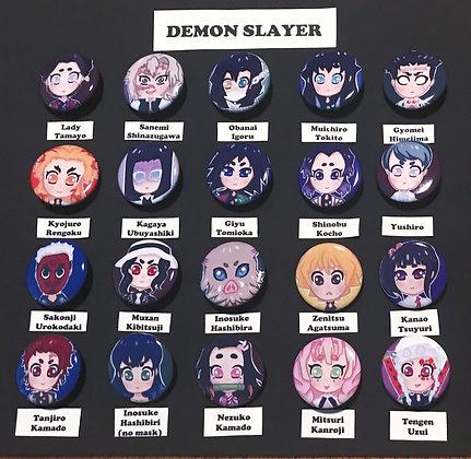 Demon Slayer (Button Set)