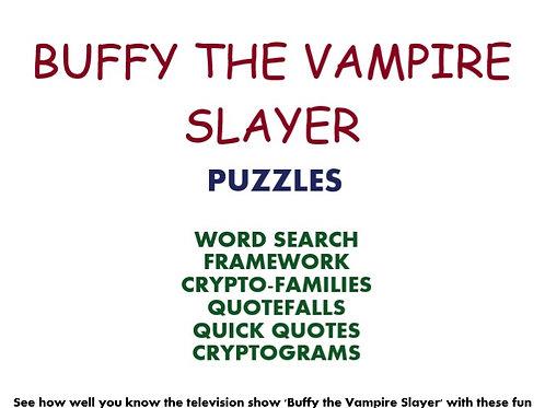 Buffy the Vampire Slayer (puzzles)