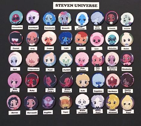 Steven Universe (Button Set)