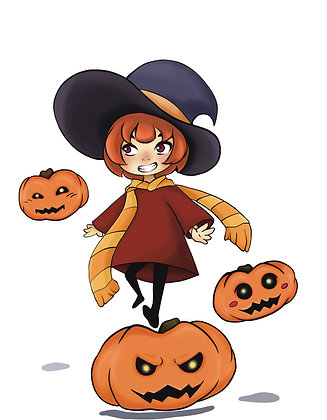 Witchtober, Day 8-Pumpkin