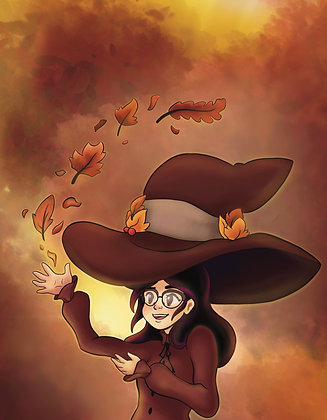 Witchtober, Day 3-Autumn