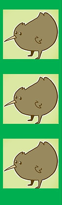 Kiwi Bookmark
