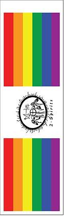 Two Spirit Pride Bookmark Front